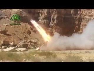 استهداف منزل  قائد الفرقة 20 في مطار الضمير بعدة صواريخ غراد