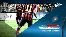 Liga BBVA / Barcelone - Athletic / Real Madrid - Atletico (FR)