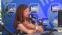 Charlotte Valandrey au Livre sur la Place 2014 à Nancy