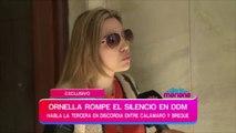 Ornella, el nuevo amor de Andrés Calamaro, rompió el silencio