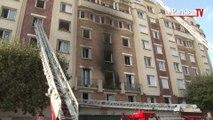 Montreuil : 11 blessés dans l'incendie d'un appartement