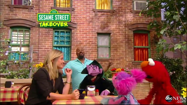 'Sesame Street' Takes Over 'GMA' - It's 'Another Good Morning'!.