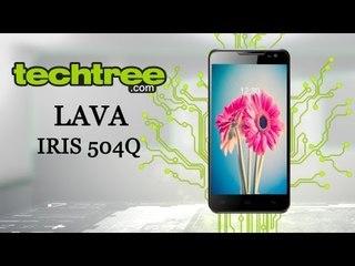 LAVA IRIS 504Q smartphone review