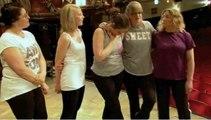 Billy Elliot visited by Ashley Banjo teaching street to a troop of Nurses