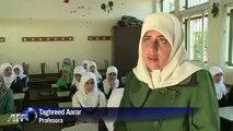 Niños palestinos vuelven a escuela