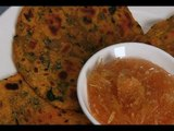 How To Cook Methina Thepla (Fenugreek Leaf Bread) By Asha Khatau