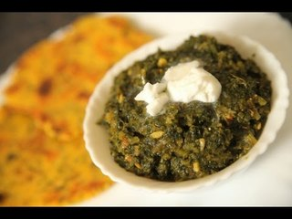 Home-Made Sarson Ka Saag (Punjabi Mustard Greens) By Seema