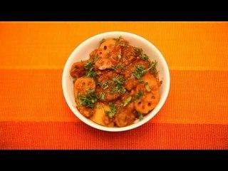 Authentic Sindhi Bhee Aloo (Potato) Wadi By Veena