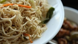 Home-Made Chinese Hakka Noodles By Kalyan