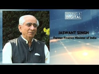 Jaswant Singh, Former Defence Minister || Time For A Generational Change