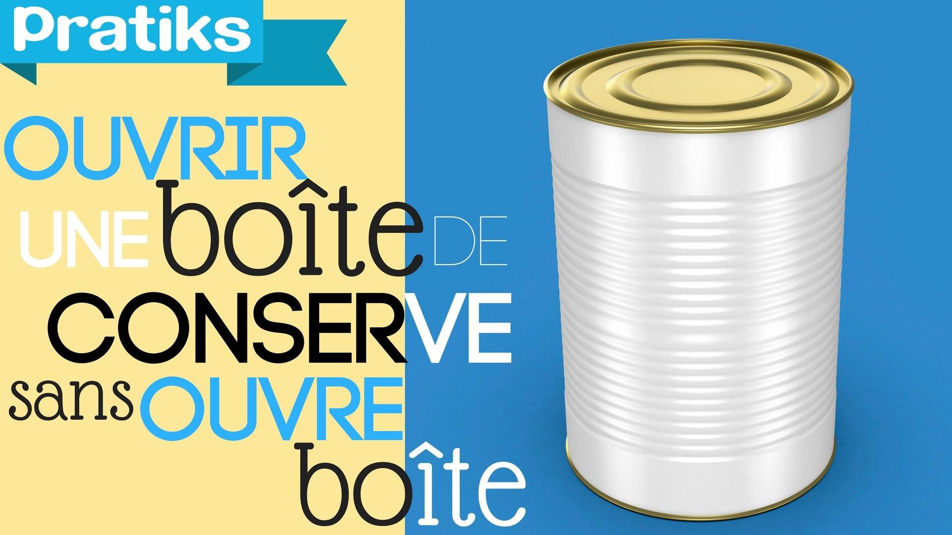 Comment Décorer Des Boites De Conserve ouvrir une boîte de conserve sans ouvre-boîte - super astuce.