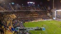 Primera Division: Boca Juniors 1 - 0 Racing Club (match suspended)