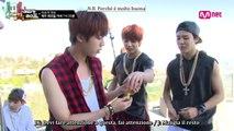 [SUB ITA] Unreleased cut - BTS American Hustle Life ep. 6 - Il rivale di Choo Sarang, Jeon Jungkook! Jungkook continua a mangiare uva come un pazzo!