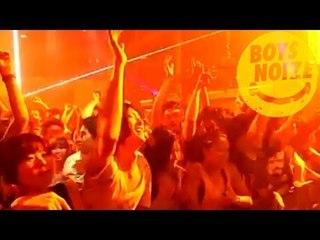 BOYS NOIZE - Live at Fuji Rock AFTER PARTY AT WOMB / TOKYO