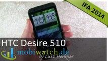 IFA: HTC Desire 510 im Hands-on-Video - Test