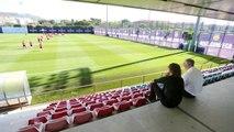 Carles Puyol s'incorpora al nou càrrec