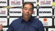 Conférence presse après match Angers SCO - GFC Ajaccio