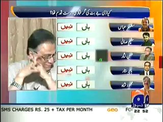Hassan Nisar Gives Funny Comment on DJ Butt Arrest