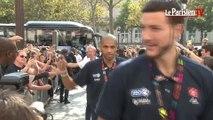 Mondiaux de basket-ball : les Bleus en bronze de retour à Paris