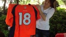 2014 nfl week two:Broncos vs Chiefs 24:17 Denever Broncos QB Peyton Manning #18 Jerseys sale at jerseys-china.cn