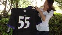 2014 nfl week two:Ravens vs Steelers 6:26 Men's Nike Baltimore Ravens #55 Terrell Suggs Purple Jerseys promotion at jerseys-china.cn
