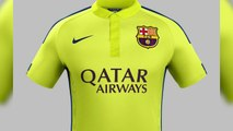 La nueva tercera camiseta del FC Barcelona