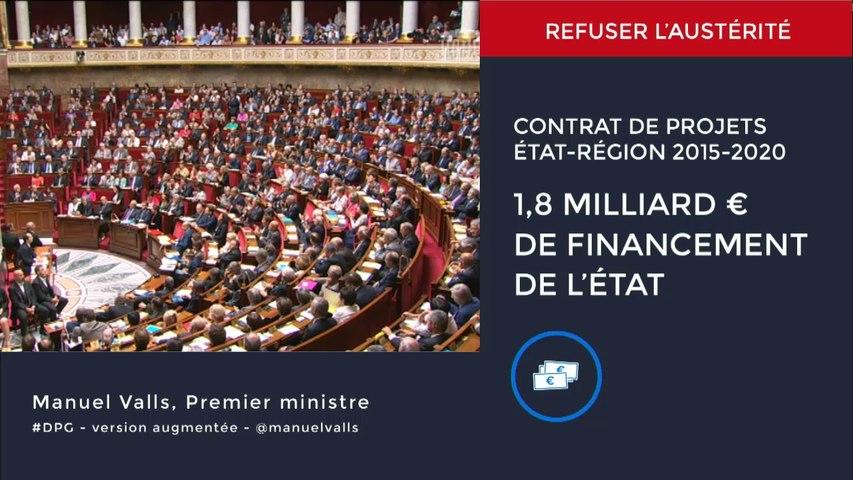 Discours de politique générale (version augmentée) de Manuel Valls, Premier ministre