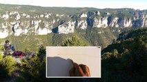 Sticks et marqueurs aquarelle Winsor et Newton : un paysage en croquis aquarellé.