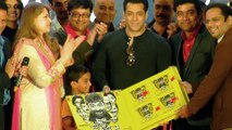Salman Khan At Sanngto Aika Music Launch - Upcoming Marathi Movie - Sachin Pilgaonkar