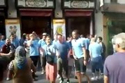 Manchester City Fans Singing Yaya/Kolo Toure Chant in Madrid