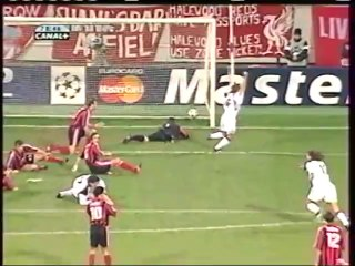 Bayer Leverkusen 4 Liverpool 2 - Quarter final 2nd Leg 2001/02 Champions League (9th April 2002)