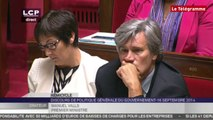 Assemblée Nationale. Le discours de politique générale du gouvernement Valls 2