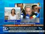 Venezuela: Gobierno acusa a 2 jóvenes de planificar acciones violentas