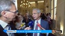 """Claude Bartolone : Manuel Valls """"est conforté, il a une majorité"""""""