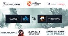 Cloud 9 vs Virtus Pro Game 2 - Dota 2 Champions League @TobiWanDOTA & Clairvoyance