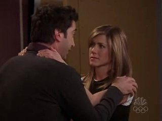 Baiser Ross et Rachel