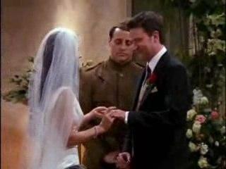 Le mariage de Monica et de Chandler