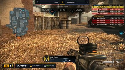 EGL SS : Fabe vs Supremacy : Quarter Finals - Map 3