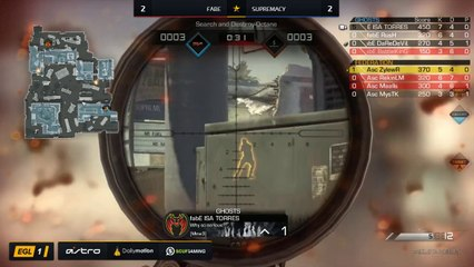 EGL SS : Fabe vs Supremacy : Quarter Finals - Map 5