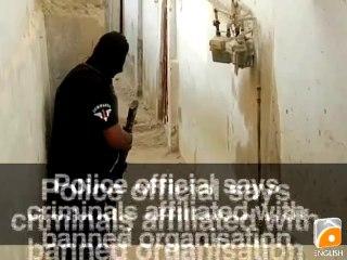 Police clash with criminals in Karachi
