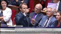 """Les excuses d'Emmanuel Macron sur les """"illettrées"""" de Gad"""