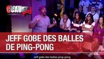 Jeff gobe des balles ping-pong - C'Cauet sur NRJ