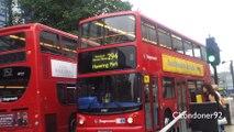 Buses at Romford East London 17-09-14