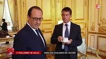 Dans les coulisses du couple Hollande-Valls à l'Elysée
