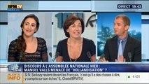 Anna Cabana et David Revault d'Allonnes: Le face à face de Ruth Elkrief - 17/09