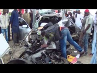 L'accident qui a fait 2 morts hier nuit sur la route de l'aeroport 'ames sensibles s'abstenir'