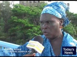 Today's News : Maristes enclavé les habitants sautent le mur