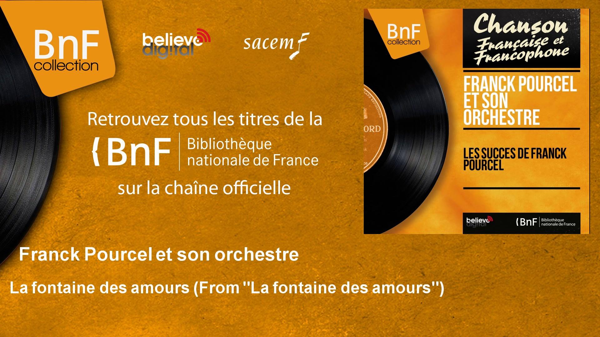 """Franck Pourcel et son orchestre – La fontaine des amours – From """"La fontaine des amours"""""""