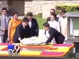 Chinese President Xi Jinping visits Rajghat - Tv9 Gujarati