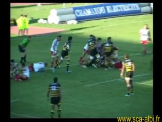 Rugby pro D2 Albi Dax